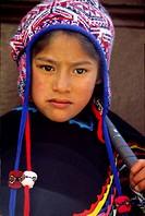 Boy, Huancavelica. Peru