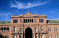 america, argentina, buenos aires, casa rosada, government building