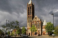 europe, northern ireland, belfast, university road, crescent church