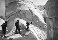 italy, dolomites, mountaineering, seracchi della marmolada, 1930_1940