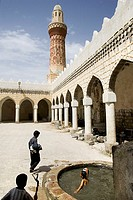 asia, panisola araba, yemen, jibla, the mosque
