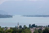 Austria, Wolgangsee, St Gilgen
