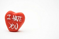 I hate you´ heart