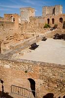 Alcazaba fortress. Alhambra. Granada. Andalusia. Spain