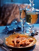 chestnut terrine with caramelized walnuts topic: christmas cooking