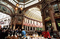 England,London,The City,Leadenhall Market