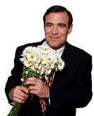 Businessman with Bouquet