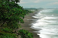 Costa Rica, Pacific coast landscape