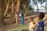 Sudan, Eastern Sahara, Soleib, Nubian child (thumbnail)