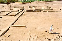 Sudan, Eastern Sahara, Kerma vestige, important antic urban center