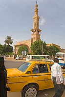 Sudan, Khartoum, around the Great Mosque