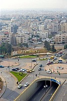 Jordan, Amman, overview of the city (thumbnail)