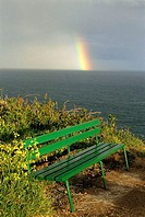 Channel Islands, Guernsey, rainbow