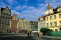Poland, Wroclaw, market place
