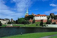 Poland, Kracow, Wawel Hill, cathedral