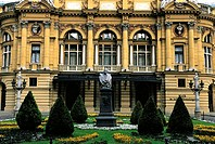 Poland, Kracow, Slowacki Theatre (thumbnail)