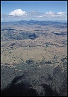 High above Australian outback