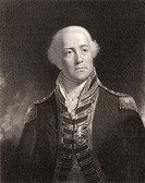 John James Gambier 1st Baron Gambier 1756 to 1833  English admiral  Engraved by W Holl after Sir W Beechey  From the book National Portrait Gallery vo...