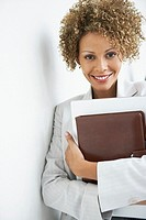 Happy businesswoman (thumbnail)