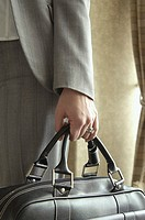 Businesswoman carrying a briefcase (thumbnail)