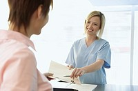 Women in a medical office