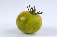 Tomato, ´Green, Zebra´, Solanum, lycopersicum,