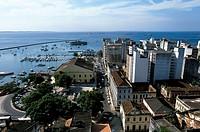 Harbour. Salvador da Bahia. Brazil.