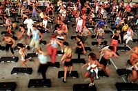 riccione, blu fitness festival, step
