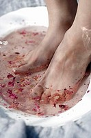 Rose foot bath  Finland