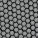 ´Pattern of snowflakes, close-up, B&W´