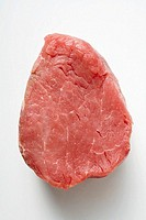 A slice of beef fillet
