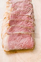 Double entrec&#244;te, sliced