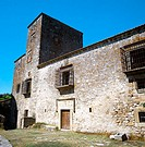 Palace of the Escobar (15th century), Trujillo. Caceres province, Extremadura, Spain