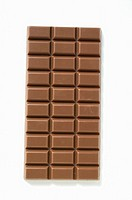 A bar of milk chocolate