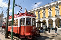 Tramway, Lisbon. Portugal