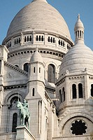 Basilique du Sacre Coeur. Paris. France