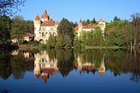 Zinkovy Castle, south Bohemian Region, Czech Republic, Europa