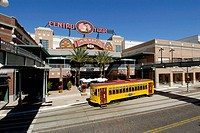 Ybor City is a popular tourist Cuban American part of Tampa, Florida. USA.