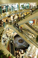 Shopping mall. Singapore