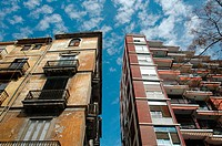 Buildings. Barrio del Carmen, Valencia. Spain