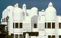 Buildings. Lanzarote. Canary Islands. Spain