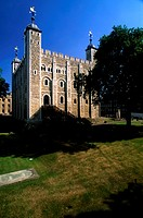 Low angle view of a building, Tower Of London, London, England