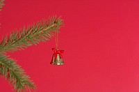 Bell on a Christmas tree