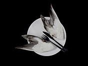 Bird wings on a plate