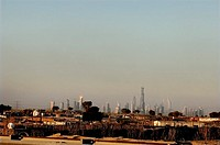 Sheikh Zayed Road skyline, Dubai, United Arab Emirates