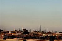 Sheikh Zayed Road skyline, Dubai, United Arab Emirates