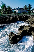 Jamaica, Port Antonio, the Trident shoreline (thumbnail)