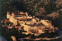 Amer , jaigarh fort , jaipur , rajasthan , india