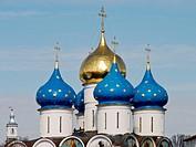 Holy Trinity-St. Sergius Lavra (monastery), Sergiyev Posad. Golden Ring, Russian Federation