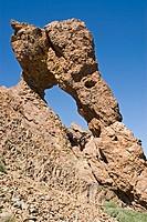 geography / travel, Spain, Canary Islands, Tenerife, landscape / landscapes, Parque Nacional del Teide, rock Zapato de la Reina ,Schuh der Königin,, E...